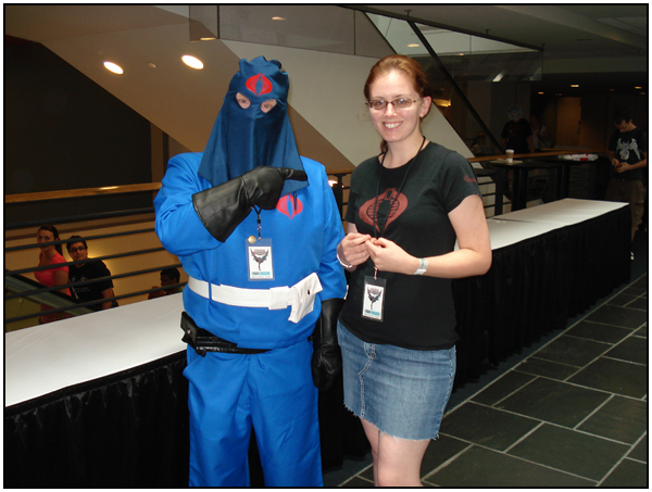 Cobra Commander costumer