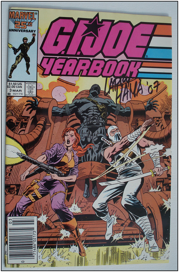 Larry Hama: G.I. JOE Yearbook #3