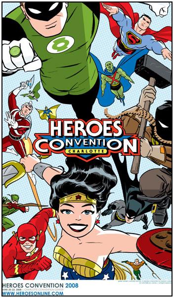 HeroesCon 2008 Darwyn Cooke Print