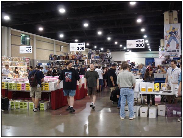 HeroesCon 2009 floor