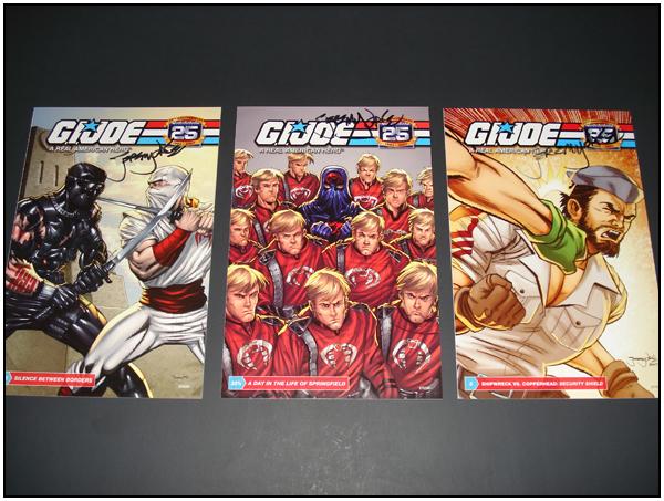 G.I. JOE (Hasbro) signed by Jeremy Dale
