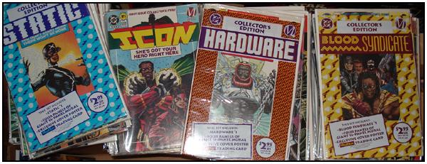 Milestone Media Comics
