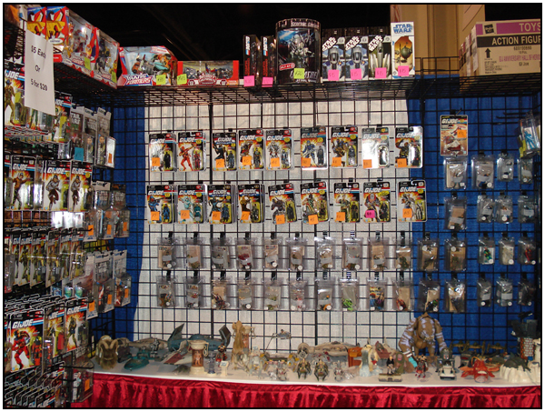 The Outer Rim Collectibles Booth