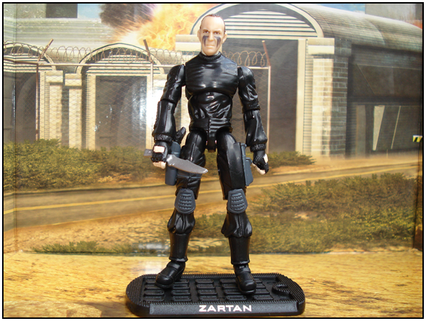 Zartan - The Rise Of Cobra