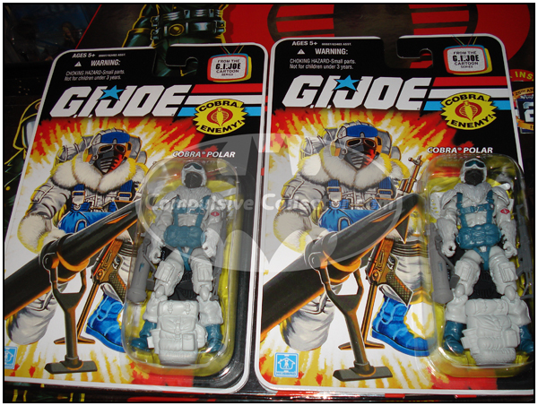 G.I. JOE Snow Serpent figures