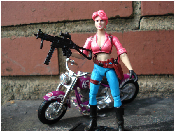 G.I. JOE 25th Anniversary Zarana